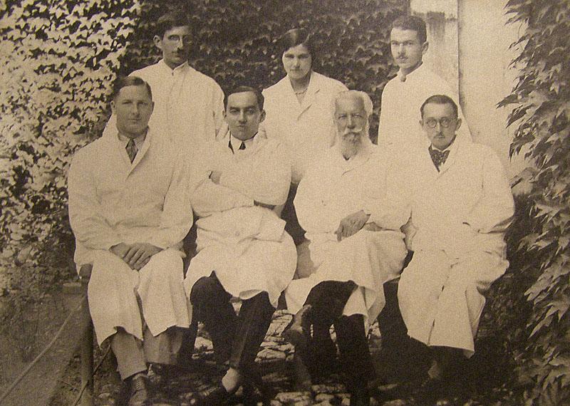 Zespół Lekarski Kliniki Oto-Rhino-Laryngologicznej wKrakowie 1934r.